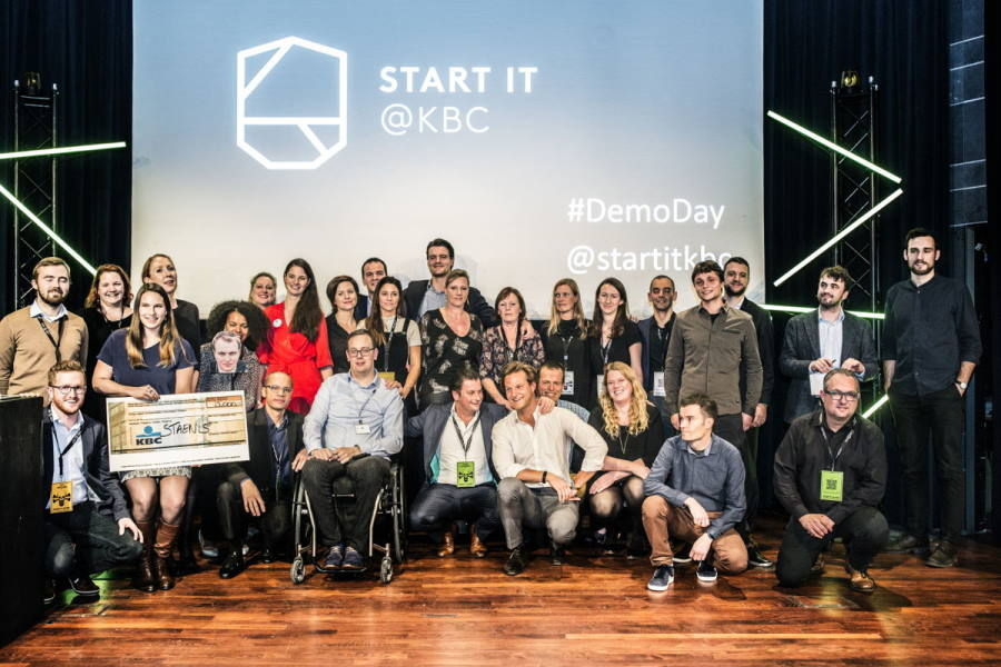 Start it at KBC Deelnemers DemoDay